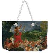St John The Baptist Preaching Weekender Tote Bag