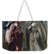 St. John The Evangelist And St. Francis Of Assisi Weekender Tote Bag