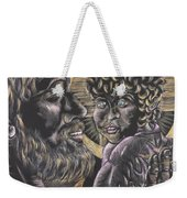 St. Joseph And The Child Jesus Weekender Tote Bag