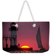 St. Joseph Michigan Sail Weekender Tote Bag