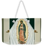 St. Juan Diego And The Miracle Of Guadalupe - Rljdm Weekender Tote Bag