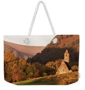 Morning At Glendalough, County Wicklow - Ireland Weekender Tote Bag by Barry O Carroll