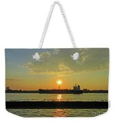 St Lawrence Sunset 3 Weekender Tote Bag