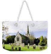 St Leonard's Church At Monyash Weekender Tote Bag