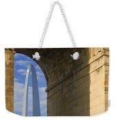 St Louis Arch And Eads Bridge   Weekender Tote Bag