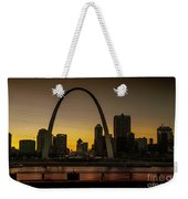 St Louis Arch At Sunset Weekender Tote Bag