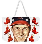 St. Louis Cardinals 1953 Yearbook Weekender Tote Bag