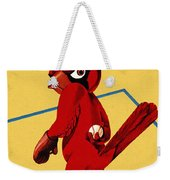 St. Louis Cardinals Vintage 1956 Program Weekender Tote Bag