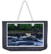 St Louis River Scrapbook Page 1 Weekender Tote Bag