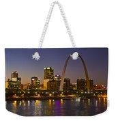St Louis Skyline From Poplar Street Bridge Weekender Tote Bag