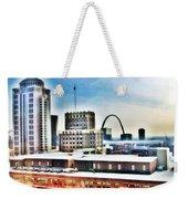 St Louis Skyline Weekender Tote Bag