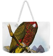 St Lucia Amazon Parrot Weekender Tote Bag