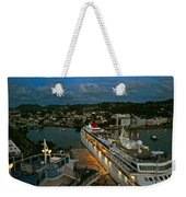 St. Lucia In The Evening Weekender Tote Bag