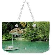St. Lucia Mooring Weekender Tote Bag