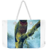 St. Lucia Parrot - Majestic Weekender Tote Bag