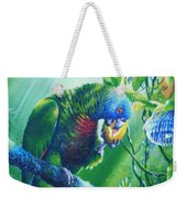 St. Lucia Parrot And Wild Passionfruit Weekender Tote Bag