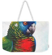 St. Lucia Parrot Weekender Tote Bag