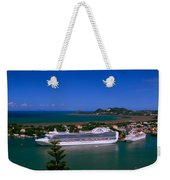 St. Lucia Port Weekender Tote Bag