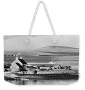 St. Margarets Hope, Orkney.    Black And White Weekender Tote Bag