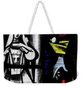 St Mary Redcliffe Stained Glass Close Up C Weekender Tote Bag