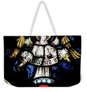 St Mary Redcliffe Stained Glass Close Up H Weekender Tote Bag