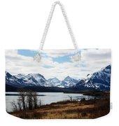 St. Mary's Lake Weekender Tote Bag