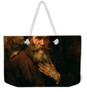 St Matthew And The Angel Weekender Tote Bag
