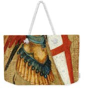 St Michael And The Dragon Weekender Tote Bag