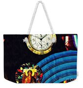 St Michael At The Gates Of Time Weekender Tote Bag
