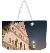 St. Michael, Lady And Moon Weekender Tote Bag