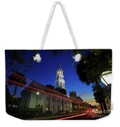 St. Michael's Episcopal Church In Charleston, South Carolina Weekender Tote Bag