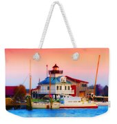 St. Michael's Lighthouse Weekender Tote Bag