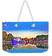 St. Michael's Marina Weekender Tote Bag