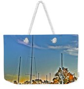 St. Michael's Marina On The Chesapeake Weekender Tote Bag
