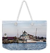 St Michael's Maryland Lighthouse Weekender Tote Bag