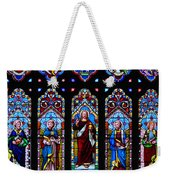 St. Michael's Parish Stained Glass Weekender Tote Bag