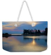 St. Michael's Sunrise Weekender Tote Bag by Bill Cannon
