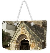 St Mylor And Bell Tower Weekender Tote Bag