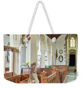 St Mylor Cross Reflections Weekender Tote Bag