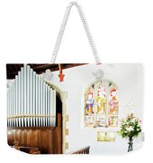 St Mylor Organ Pipes Weekender Tote Bag