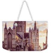 St. Nicholas Church, Gent Weekender Tote Bag