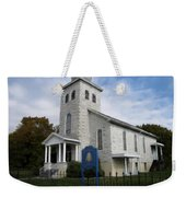 St Nicholas Church Saint Clair Pennsylvania Weekender Tote Bag