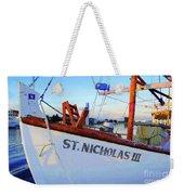 St. Nicholas IIi Weekender Tote Bag