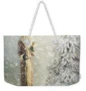 St Nicholas In The Snow Weekender Tote Bag