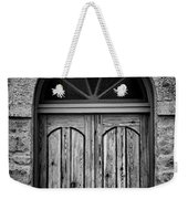 St Olafs Church Door Weekender Tote Bag