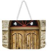 St Olafs Kirke Door Weekender Tote Bag
