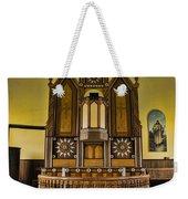 St Olafs Kirke Pulpit Weekender Tote Bag