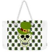St Paddys Skull  Weekender Tote Bag