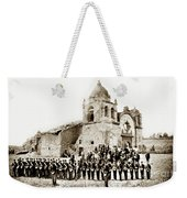 St. Patrick's Cadets On The Third Of July, 1882 At The  Weekender Tote Bag