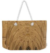 St. Patrick's Cathedral - Detail Of Main Altar's Ceiling Weekender Tote Bag